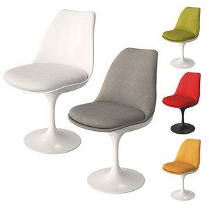 chair knoll tulip armless model