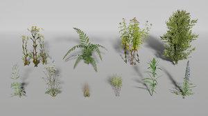 3D plants pack model