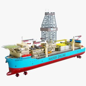 3D ship maersk model