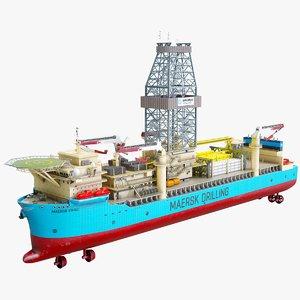 3D ship maersk model