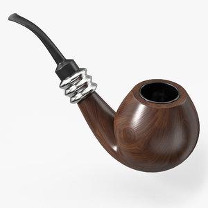 smoking pipe model