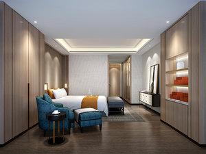 bedroom interiors 3D