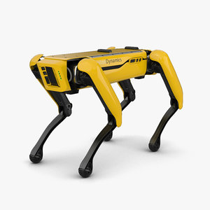boston dynamics spot 3D model