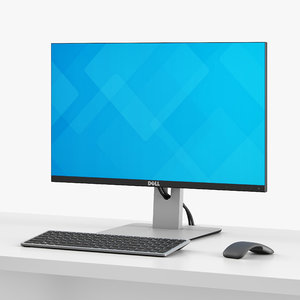 3D dell desktop set