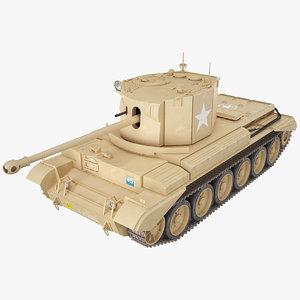 cruiser tank challenger a30 3D
