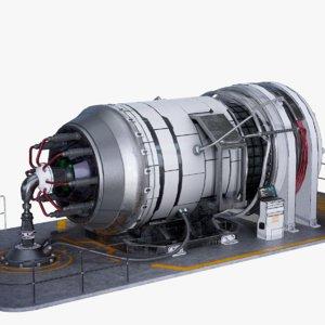 3D pbr reactor