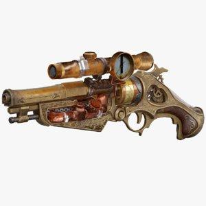 3D gun pbr