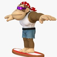 Funky Kong Character - Donkey Kong