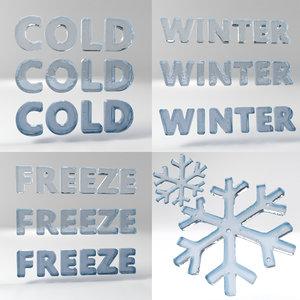 ice text set model