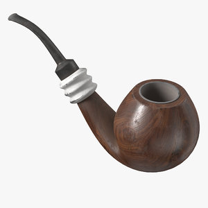 smoking pipe 3D model