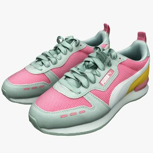 puma sneakers shoes 3D model