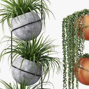 flower studio 3D model