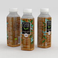Beverage Bottle Pure Leaf Organic Infused Iced Tea 330ml 2020