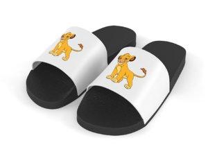 3D slide sandal