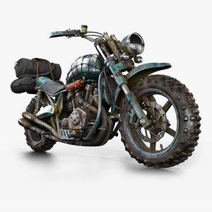 3D motorbike bike