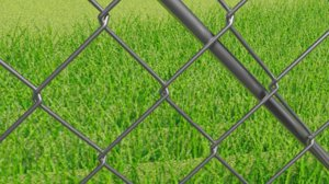 chain link fence model