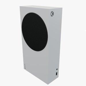 xbox series s 3D model