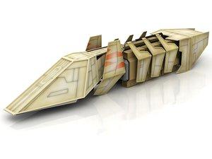 3D cargo star wars