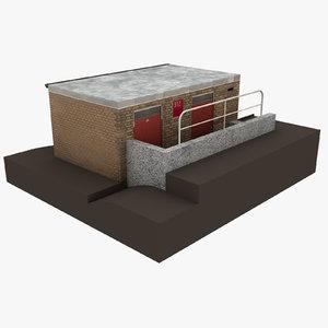 3D european building 56
