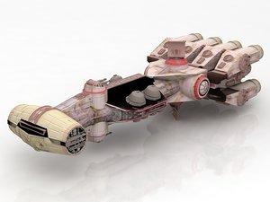 corvette star wars 3D model