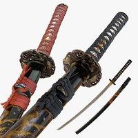 Realistic Katana - Authentic Japanese Sword