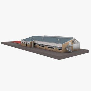3D european building 52