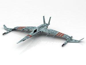 rebelion spacecraft starwars spaceship 3D model