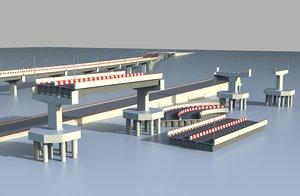 flyover asset architectural 3D