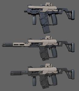 weapon gun 3D model