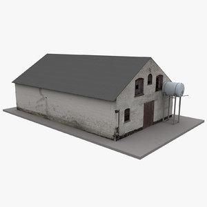 european building 53 model
