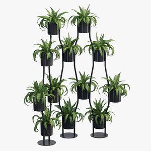 flowerpot 3D