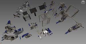 foreman fitness set 3D model