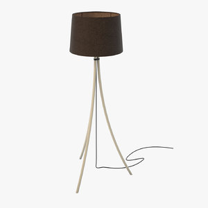 3D tripod floor lamp 04 model