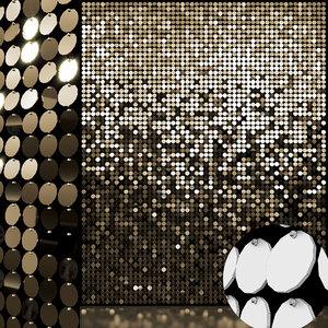 sequins decorative wall 01