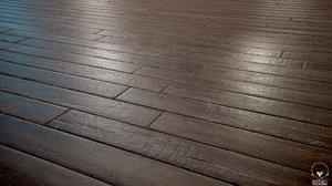 Old woodstrip Parquet - PBR textures