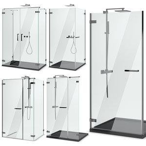 3D model cabin showers radaway |