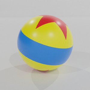 3D luxo jr ball