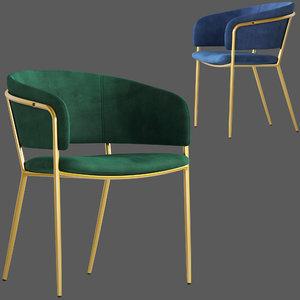 3D linea furniture luxe amon model