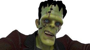 frankenstein monster 3D