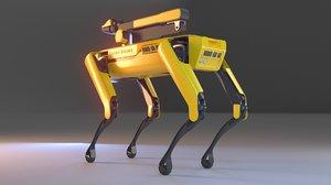 boston spot robot 3D model