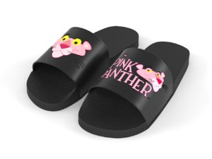 3D pink panther home slipper