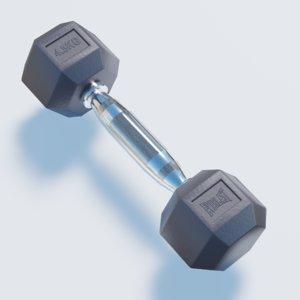3D weight sport model