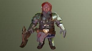 imperial dwarf 3D model