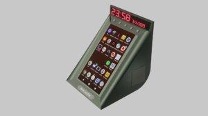 clock radio android model