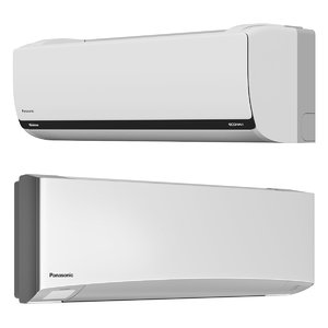 3D model air conditioning panasonic