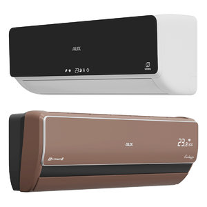 air conditioning aux 3D model