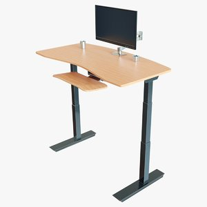 adjustable standing desk model