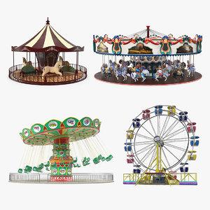 3D amusement park rides 2