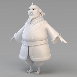 3D model fat vizier