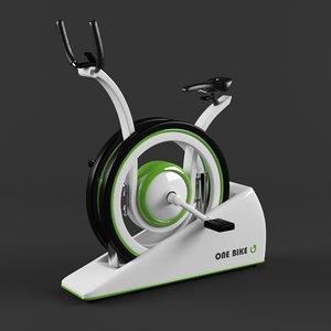 bike stationary 3D model